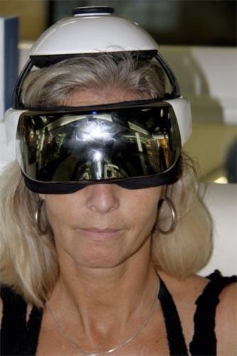 Marianne med briller